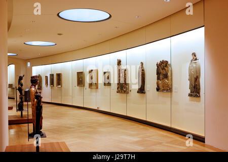 France, Paris, 8th district, Petit Palais. Middle Ages and Renaissance Gallery - Stock Photo