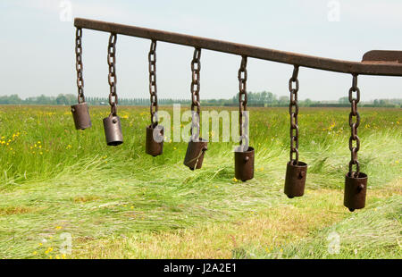 An extension to a tractor to save animals - Stock Photo