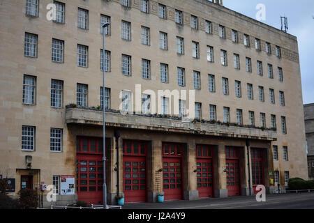 Fire Station Northampton England - Stock Photo