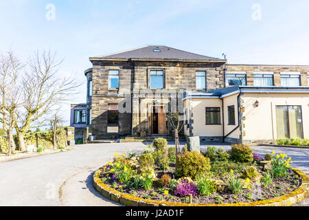 Raven Hall Country House Hotel & Golf Course situated in Ravenscar between Whitby & Scarborough Raven Hall Hotel - Stock Photo
