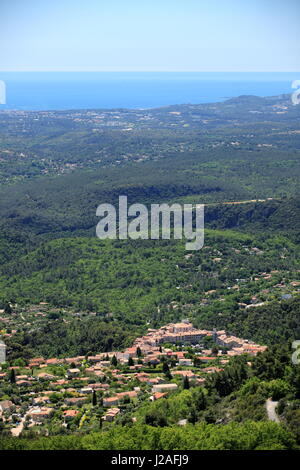 Tourrettes sur Loup, Alpes-Maritimes, 06, Cote d'Azur, PACA, France - Stock Photo