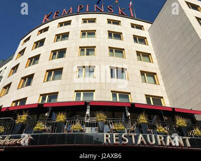 Hotel Kempinski at Kurfürstendamm in Berlin (Germany) on 24 March 2017. | usage worldwide - Stock Photo