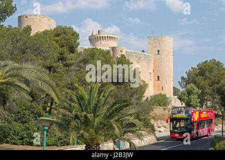 Castell de Bellver in Palma de Mallorca, Spain - Stock Photo