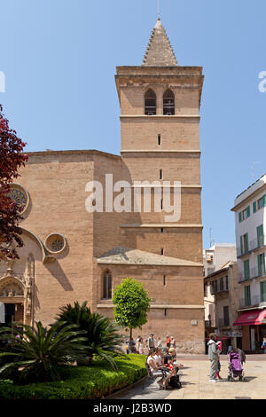 San Miquel in Palma de Mallorca, Spain - Stock Photo