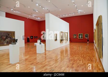 State art gallery brisbane queensland australia stock photo
