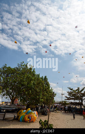Beach With A Tree In Sanur Denpasar Bali Indonesia Southeast Asia Stock Photo Alamy
