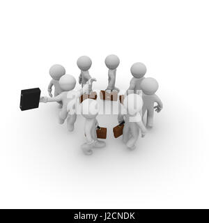 Career or business concept, Successful living or great job concept, 3d rendering - Stock Photo