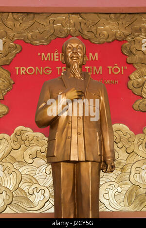 Vietnam, DMZ Area. Quang Tri Province, Ben Hai, war memorial at site of former north and south Vietnam border post, - Stock Photo