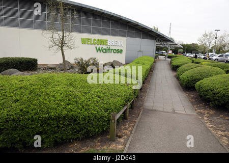Scenes from South Mimms Services motorway service station