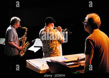 Tribute to Jaco Pastorius' -USA (Randy Brecker, Bob Mintzer, Mitch Forman, Victor Bailey, Krzysztof Zawadzki - Stock Photo