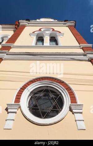 Romania, Maramures Region, Sighetu Marmatei, Sephardic Synagogue - Stock Photo