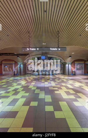 USA, California, Los Angeles, Hollywood, Vine Metro Station (Large format sizes available) - Stock Photo