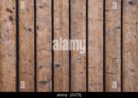... Top View Of Outdoor Patio Hardwood Flooring Texture, Weathered Wooden  Planks Pattern   Stock Photo