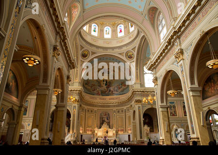 St. Mary of Angels Catholic church in Chicago, Northside - Stock Photo