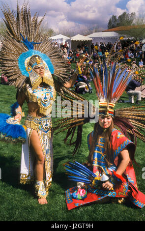 Two Aztec Women Dressed In Magnificent Traditional Aztec Regalia And J Gt H on Aztec Dance Headdress