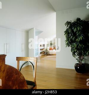 Open plan modern hallway. - Stock Photo
