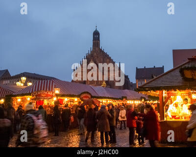 Nürenberg nurenberg germany market in the hauptmarkt stock photo