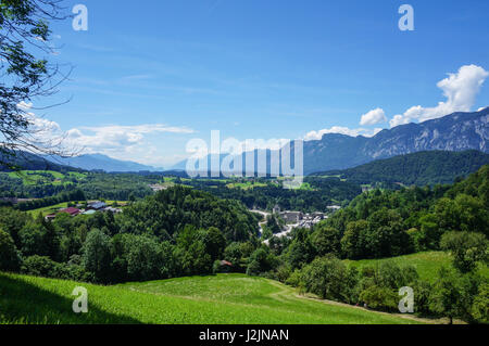 Cement factory in the Austrian state of Tyrol - Stock Photo