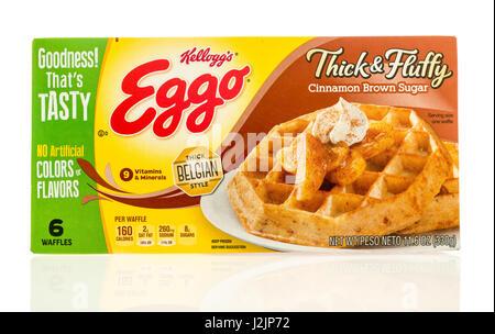 Eggo waffles belgie