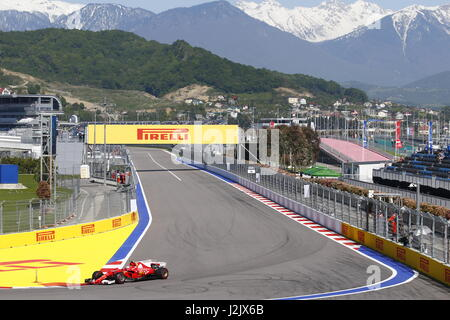 Sochi, Russia. 28th Apr, 2017. 28.04.2017, Sochi Autodrom, Sochi, FORMULA 1 VTB RUSSIAN GRAND PRIX, 28.04. - 30.04.2017 - Stock Photo