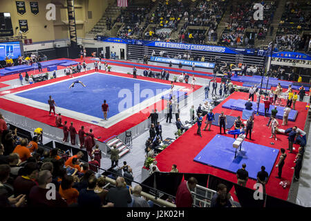 West Point, NY, USA. 22nd Apr, 2017. April 22, 2017: A view of the arena during the 2017 National Collegiate Men's - Stock Photo