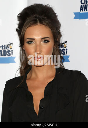 Mar 20, 2017 - attending Chortle Comedy Awards 2017, Up The Creek Comedy Club, Greenwich in London, England, UK - Stock Photo