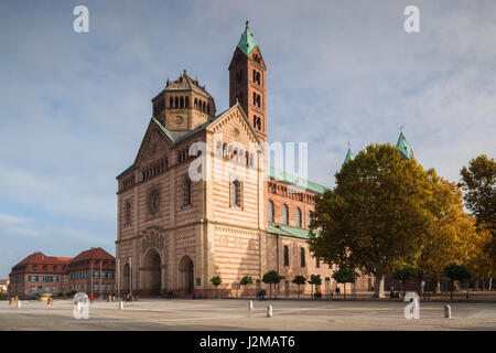 Germany, Rheinland-Pfalz, Speyer, Dom cathedral, exterior - Stock Photo