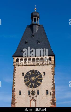 Germany, Rheinland-Pfalz, Speyer, Altportel city gate - Stock Photo