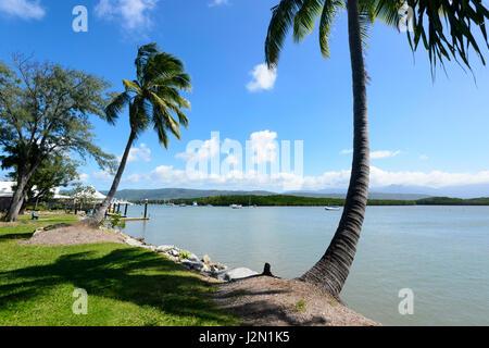 Scenic View of Port Douglas, Far North Queensland, FNQ, QLD, Australia - Stock Photo