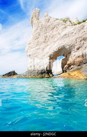 Beautiful lanscape of Zakinthos island - Stock Photo