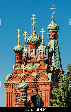 Russian Orthodox Church in Tampere (Finland) - Stock Photo