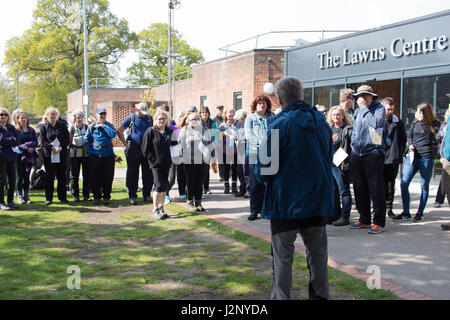 Cottingham, UK. 30th Apr, 2017. Dove House Sponsored Walk - raising money to support Dove House Hospice, a charity - Stock Photo