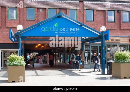 Letchworth Garden City Garden Square Shopping Centre Hertfordshire Stock Photo Royalty Free