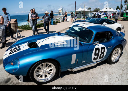 Shelby Daytona Coupe at the La Jolla Concourse d'Elegance car show - Stock Photo