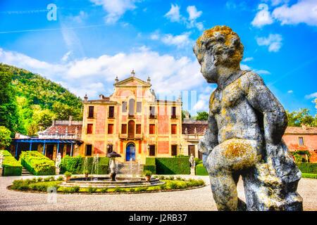 Valsanzibio gardens padova province euganean hills area veneto region italy - Stock Photo