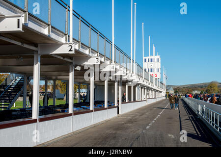 Goodwood Motor Circuit, Chichester, West Sussex, United Kingdom. 6 November 2016. Goodwood Motor Circuit for the - Stock Photo