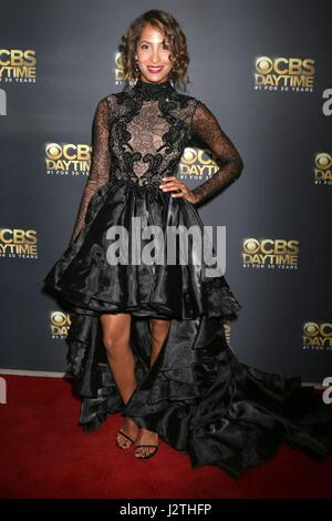 Pasadena, CA. 30th Apr, 2017. Christel Khalil at arrivals for CBS Daytime Emmy After Party, Pasadena Conference - Stock Photo