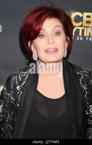 Pasadena, CA. 30th Apr, 2017. Sharon Osbourne at arrivals for CBS Daytime Emmy After Party, Pasadena Conference - Stock Photo