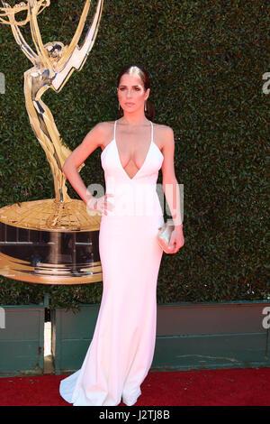 Pasadena, California, USA. 30th Apr, 2017. Kelly Monaco at the 44th Daytime Emmy Awards - Arrivals at the Pasadena - Stock Photo