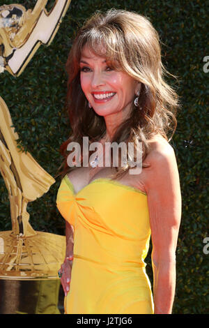 Pasadena, California, USA. 30th Apr, 2017. Susan Lucci at the 44th Daytime Emmy Awards - Arrivals at the Pasadena - Stock Photo