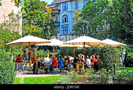 cafe in literaturhaus berlin stock photo 111802526 alamy. Black Bedroom Furniture Sets. Home Design Ideas