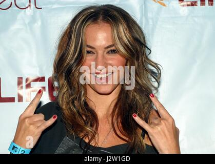 Drea de Matteo arriving to the MTV2 LIFEbeat Benefit Concert at Roseland Ballroom in New York City.  August 27, - Stock Photo