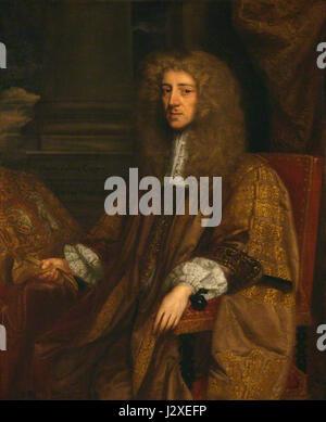 Anthony Ashley-Cooper, 1st Earl of Shaftesbury - Stock Photo