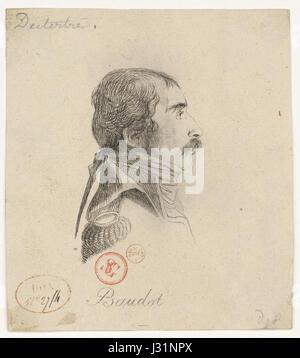 Baudot Marc Antoine 1765-1837) - Stock Photo