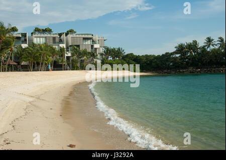 21.03.2017, Singapore, Republic of Singapore, Asia - The luxury condominium Seven Palms Sentosa Cove at Tanjong - Stock Photo