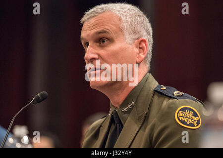February 16: Director Paul Beeson (JTF-W) will testifies before the House Homeland Security Committee, Border and - Stock Photo