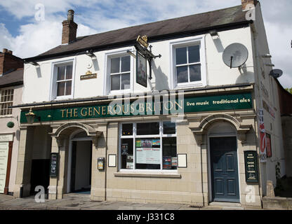 The Generous Briton pub In Melton Mowbray - Stock Photo