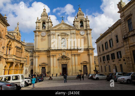 The Metropolitan Cathedral of Saint Paul, commonly known at St. Paul's Cathedral, is a Roman Catholic cathedral - Stock Photo