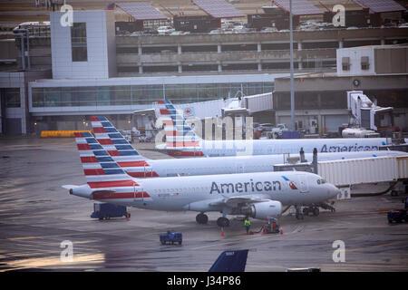 Boston Logan International Airport Boston capital of Massachusetts, United States, USA, - Stock Photo