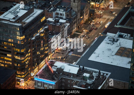 Newbury Street Boston  Massachusetts, United States, USA, - Stock Photo